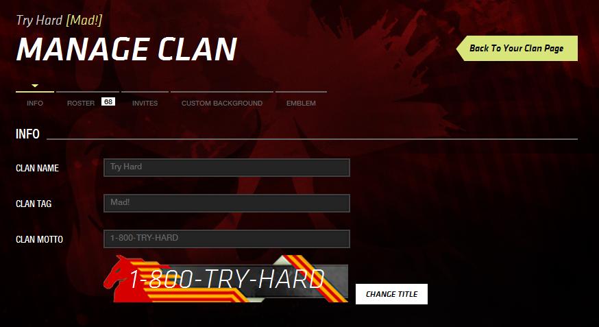 Funny Mw3 Clan Tags #1
